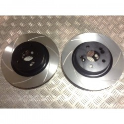 Clio Sport 197/200 Megane 225 Front Grooved Discs