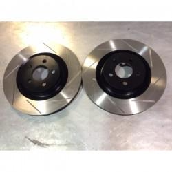Chrysler 300C SRT8 Front Grooved Discs