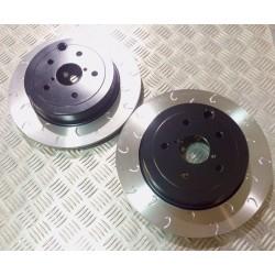 Impreza STI Rear 316mm G Hook Discs