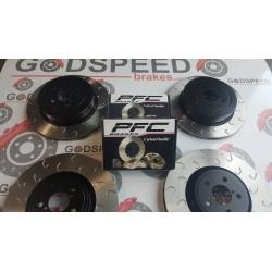 Impreza STI 2008+ F&R G Hook Discs and PF Z Rated Pads