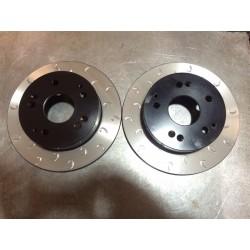 Impreza 290mm Rear G Hook Discs 170mm Handbrake