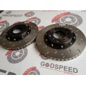 E46 M3 Front OEM Size 2 Piece Discs and Bells