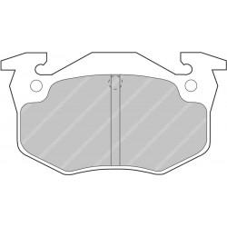 Clio Sport 172/182 Rear Ferodo Ds2500 Pads