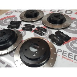 Impreza Classic G Hook Discs and Kevlar Pads Package