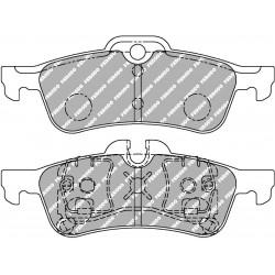 Civic Type R FK2 Rear Ferodo Ds2500 Pads
