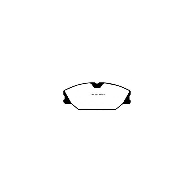 Ebc Bluestuff Ndx >> Front Clio Sport 172/182 Bluestuff NDX pads - Godspeed