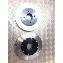 Peugeot 106 Front 283mm 2 Piece Discs and Bells