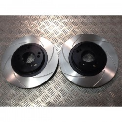 Civic Type R EP3 Front Grooved Discs