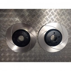 Focus Mk2 ST 225 Front Grooved Discs