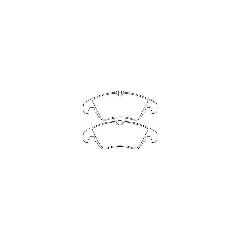 Ebc Bluestuff Ndx >> Focus RS Mk 2 Front EBC Bluestuff Pads - Godspeed