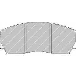 Ferodo Ds2500 CP5200 Pads