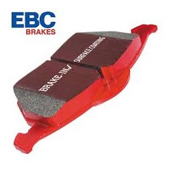 Fabia VRS Front EBC Redstuff Pads