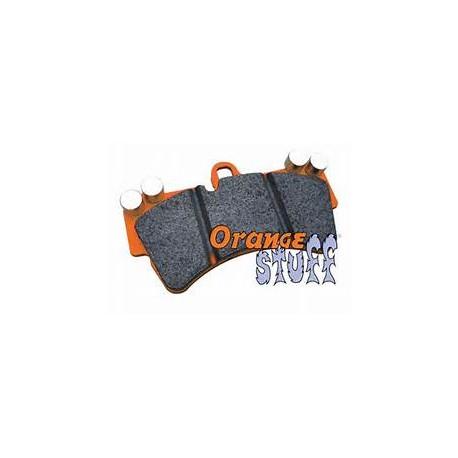 Front Orangestuff Pads Brembo STI/Evo 5-9