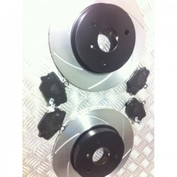 Fortwo Front Discs and Kevlar Pads package