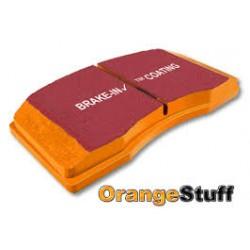 Impreza 2 Pot Rear Orangestuff Pads