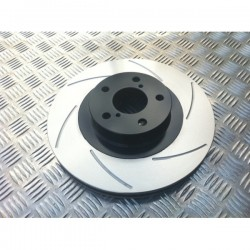 Front 4 Pot Grooved Discs