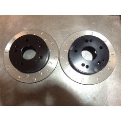 R53 Mini Cooper S Rear G Hook Discs