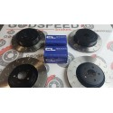 Evo 5-9 F&R G Hook Discs and CL RC5+ Pads