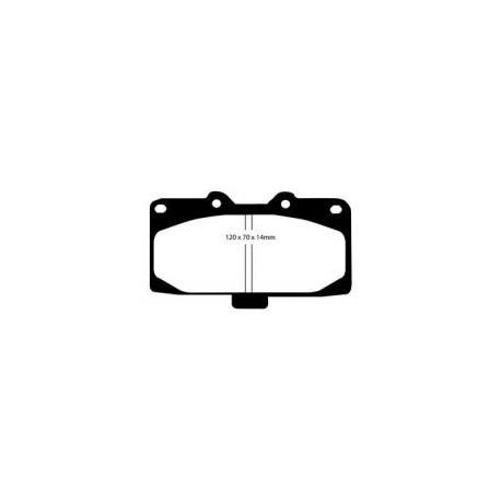 Kevlar 4 Pot Front Pads