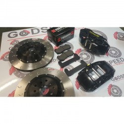 Mitsubishi Evo 5-9 Front 355mm AP 6 Pot Kit