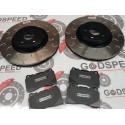 Mitsubishi Evo 5-9 Front G Hook Discs and Kevlar Pads