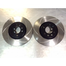 Clio 4 RS Front 6 Groove Discs