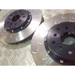 Front Leon Cupra R 330mm Discs and Bells