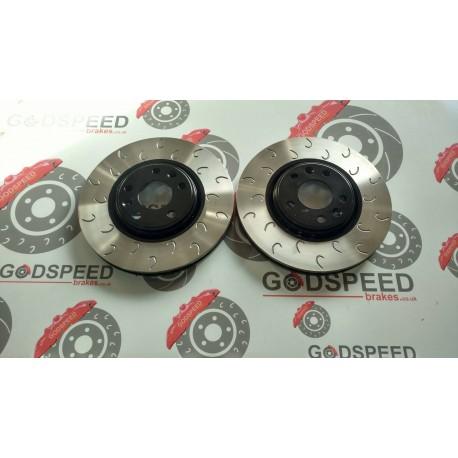 208 GTI Front G Hook Discs