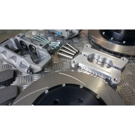 New Impreza Godspeed alloy 4 Pot Kit With 330mm 2 Piece Discs and Bells