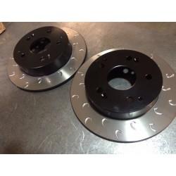 GT-86/BRZ Rear Vented G Hook Discs